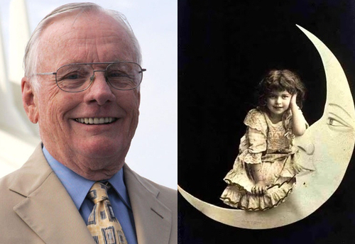 Neil Armstrong and a Paper Moon