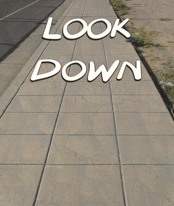 Look Down cover - Matt Mesnard